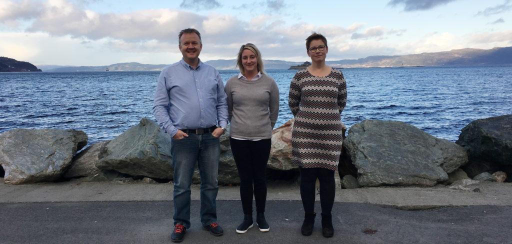 Geir Inge Kristiansen og Anne Sofie Kristoffersen fra Eidsvaag AS og Anne Gunn Berge fra Berge Rederi AS er enige i at EQS er speseielt nyttig i revisjons- og sertifiseringsprosesser.