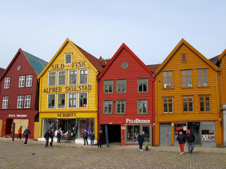 Fra bryggene i Bergen
