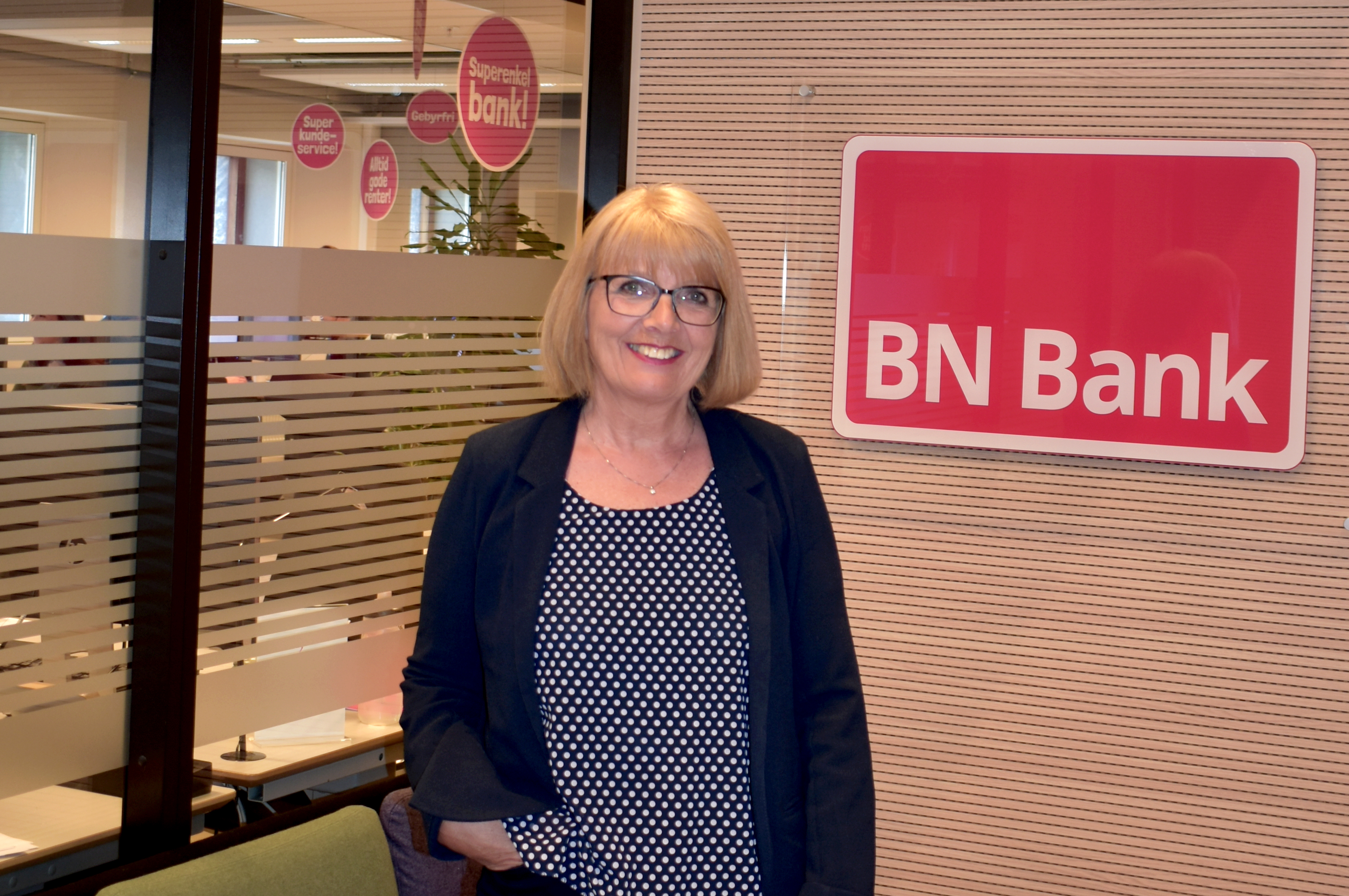 Aud Hovdal fra BN Bank