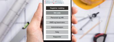 EQS 8.0 på mobil